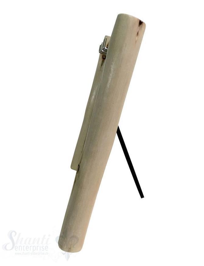 Display Leinen:Kettenbrett mit 10 Haken 34x35 cm zum Aufstellen