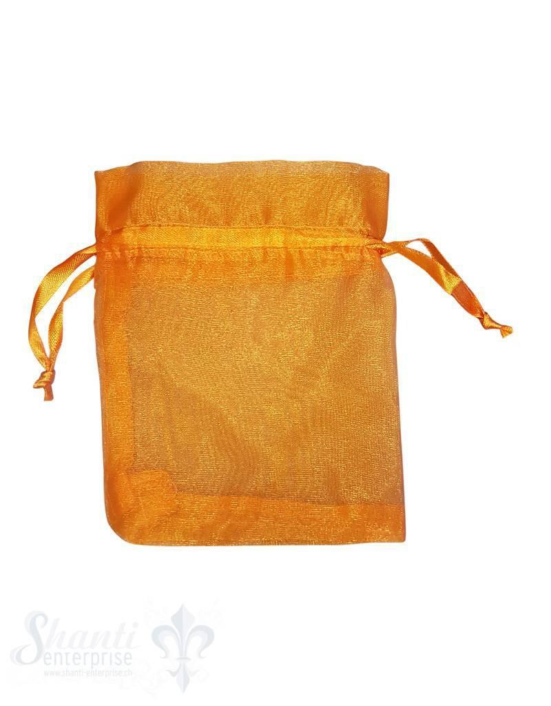Organza- Säckli, 25 Stk., orange