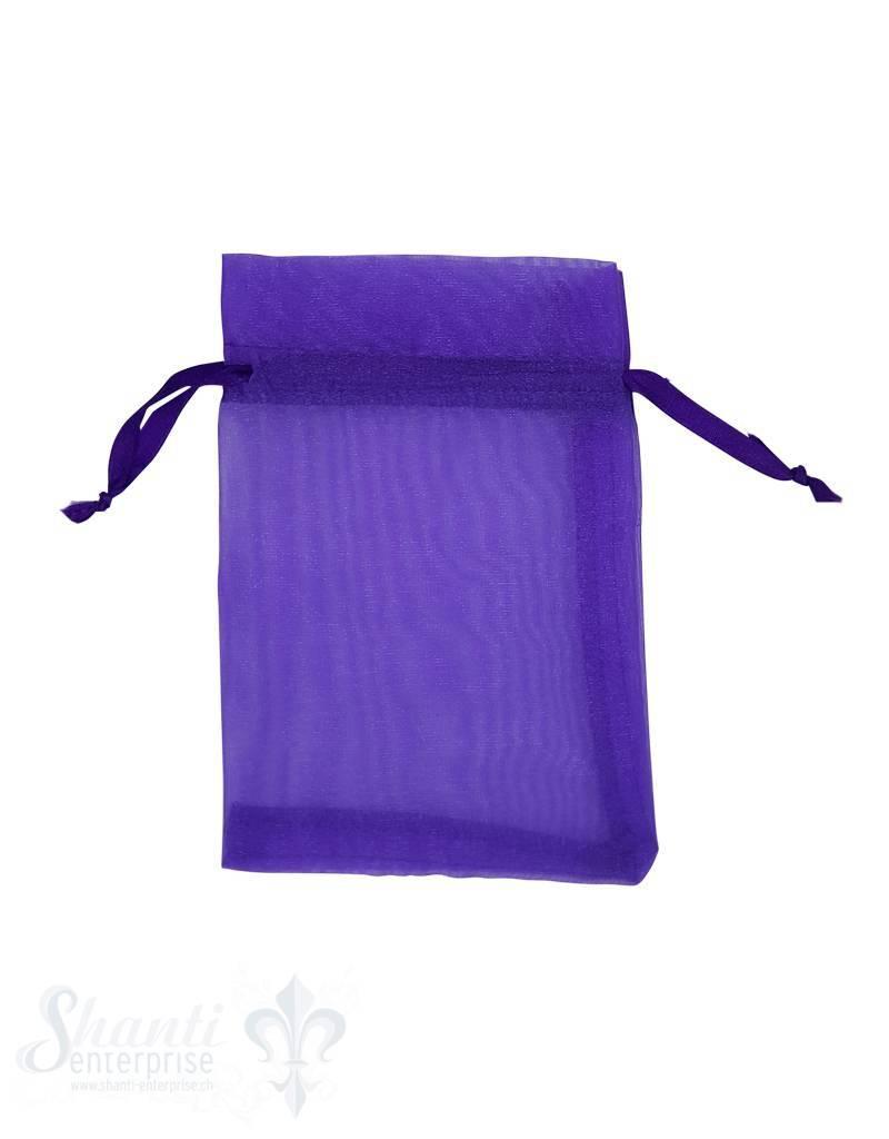 Organza- Säckli, 25 Stk., violett