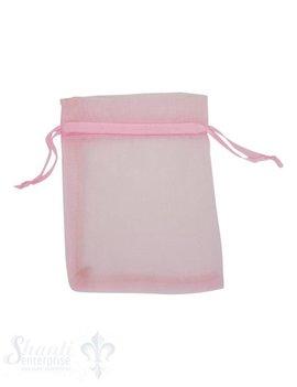 Organza- Säckli, 25 Stk., rosa