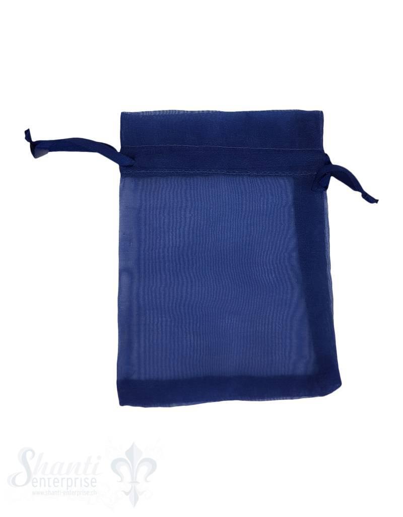 Organza- Säckli, 25 Stk., dunkelblau