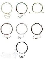 Armkette  geknüpft 4mm Grössen verstellbar 16-22 cm