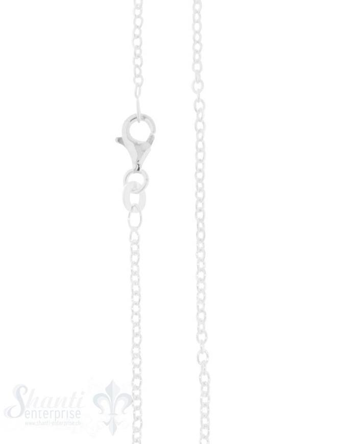 Silberkette Anker