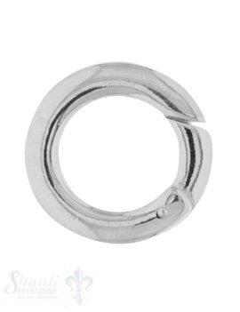 Klickschloss rund kantig D: 19,3 mm