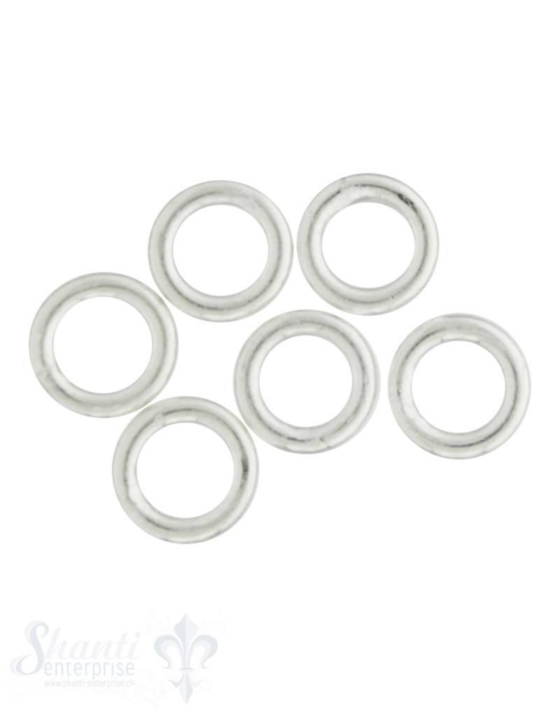 4 mm Ø Öse geschlossen Dicke 0.8 mm 1 Pack = 80 Stk. ca. 5 gr.