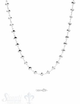 Halskette mit Herzli Karabiner