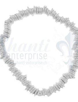 Silberarmkette: Rädli grob 16 cmb mit Gummifaden