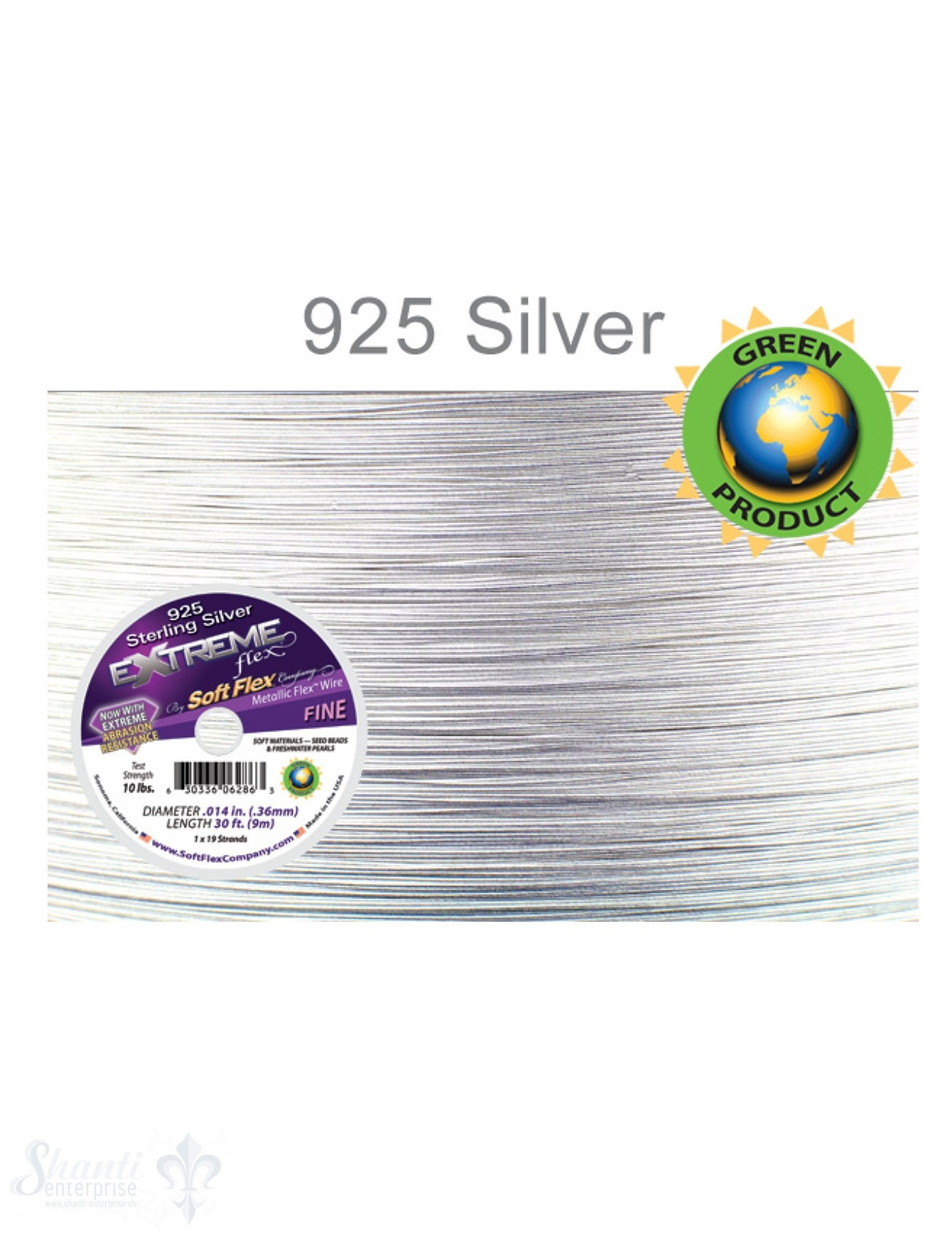 Soft Flex 925 Sterling Silver Color