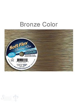 Soft Flex Soft Flex Beading Wire Bronze Draht