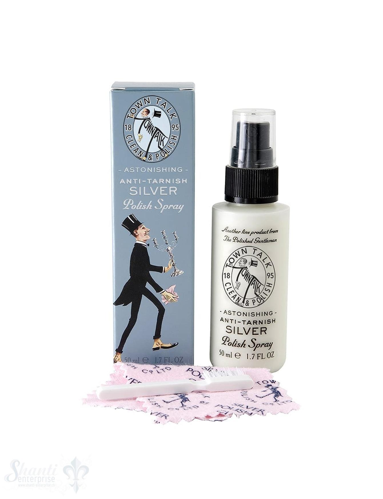 Town Talk Mini Silver Anti Tarnisch Spray 50 ml