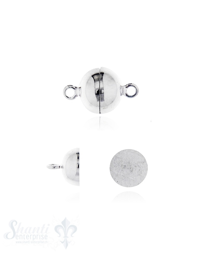Silbermagnetschloss polier 8 mm bis 20 mm
