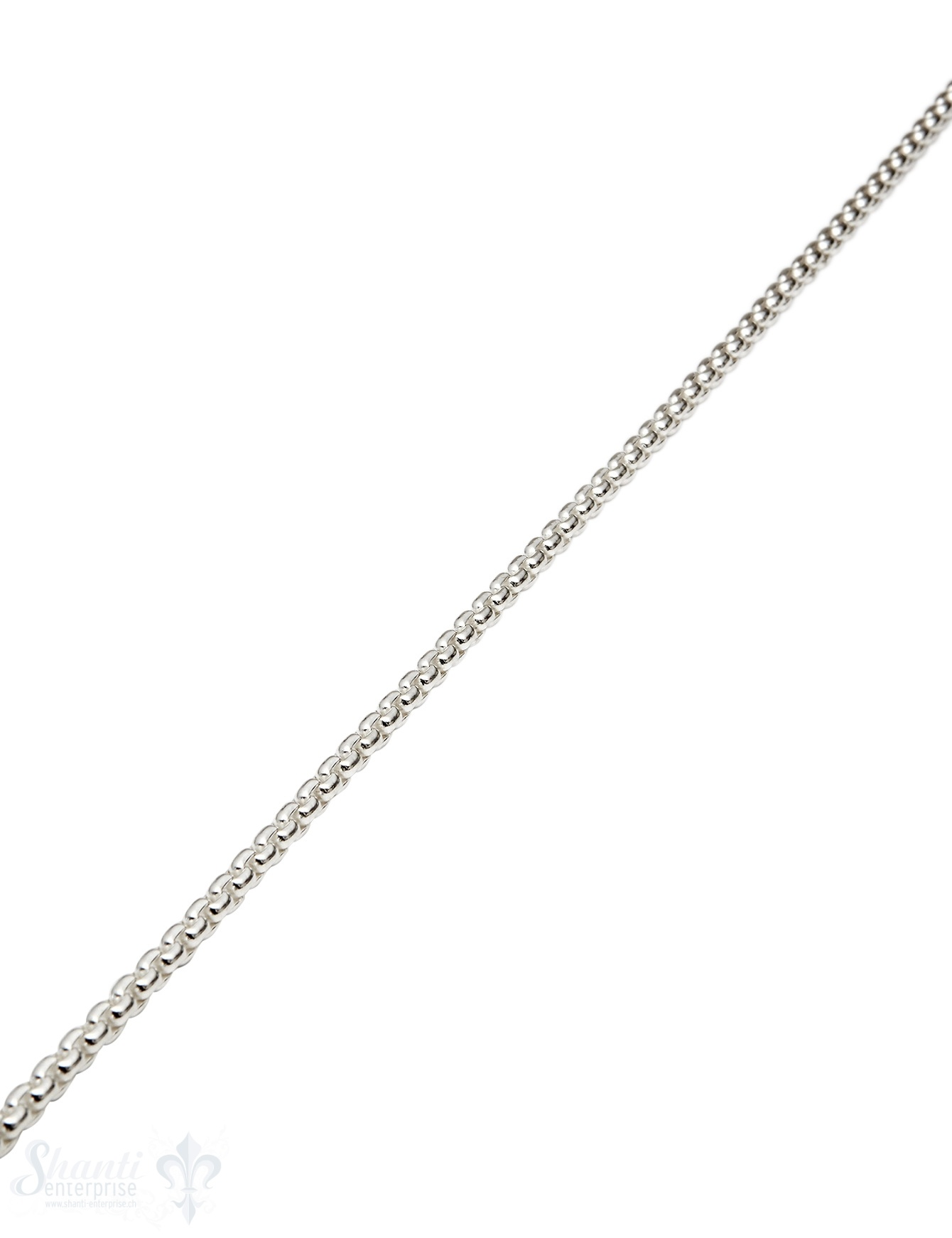 Silberkette quadratisch 4,2x4,2 mm Dicke 2.2 mm Meter ca. Fr. 179.00 Abschnittlänge wird angepasst per cm
