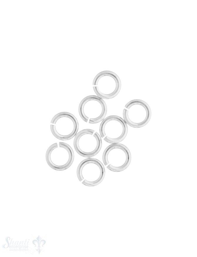 Spaltring Silber offenn