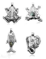 Anhänger  Silber reich verziert hohl (leicht) Öse fix Handmade