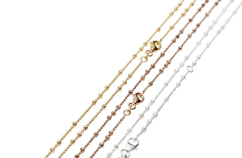 Halsketten mit Verschluss