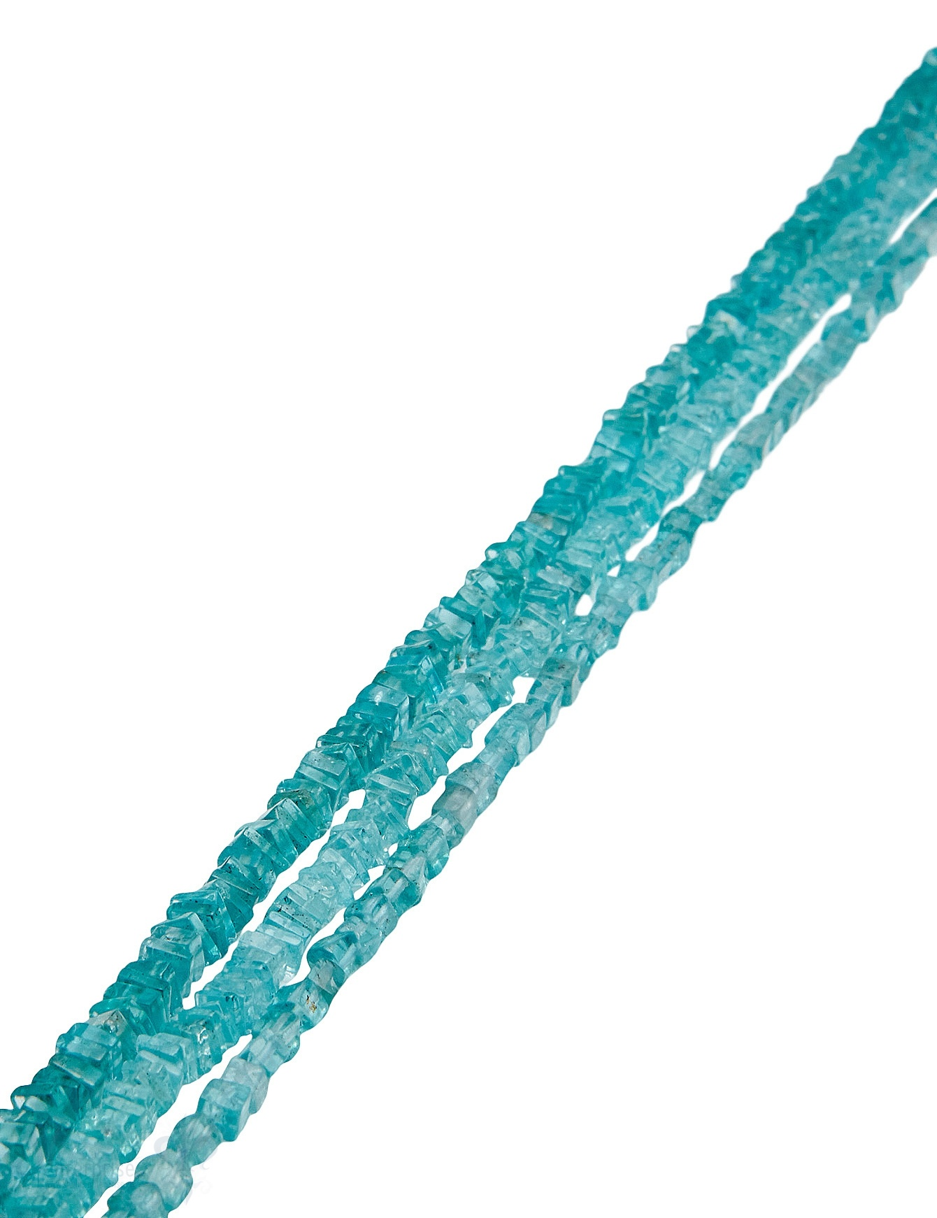 Apatit Strang aqua poliert transparent