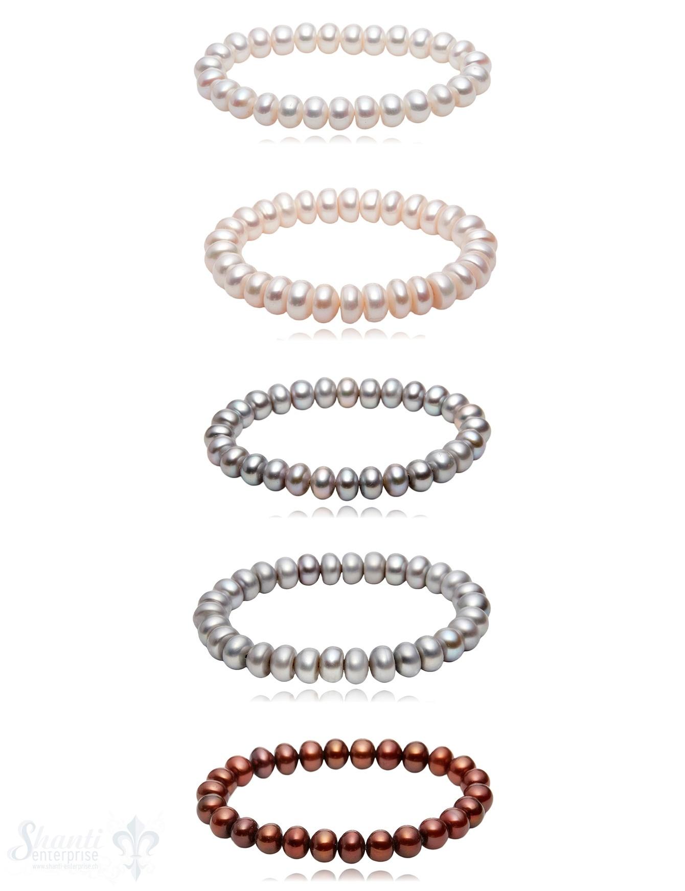 9-10 mm buttons Perlen Armbänder