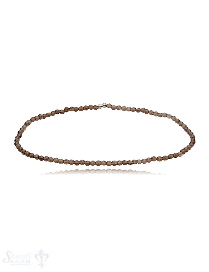 Armband 2.2 mm facettiert rund auf Elastik 17 cm