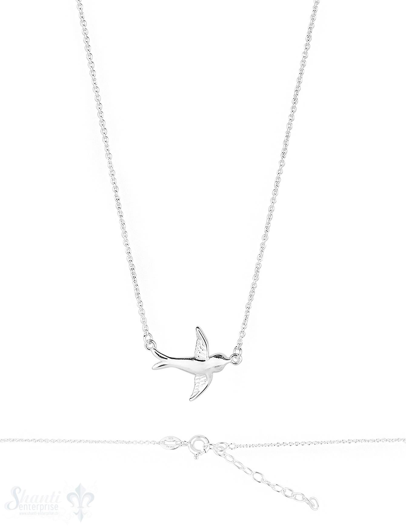 Tauben Silberkette Anker 40-44 cm cm Grössen