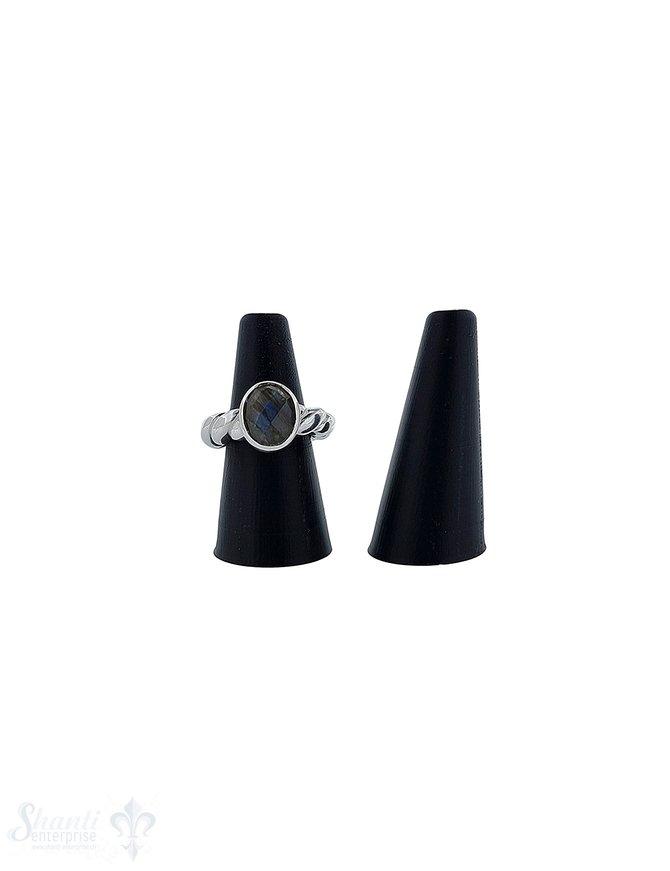 Display Kegel für Ringe 50x25 mm zulaufend auf 11 mm Kunststoff 1 Pack = 3 Stück
