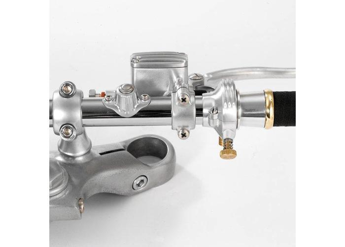 Kustom Tech Deluxe Handlebar Switch Satin Brass