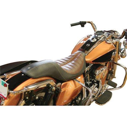 Roland Sands Seat Enzo 2-Up Black/Brown