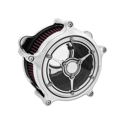 Roland Sands Clarity Air Cleaner Clarity Chrome