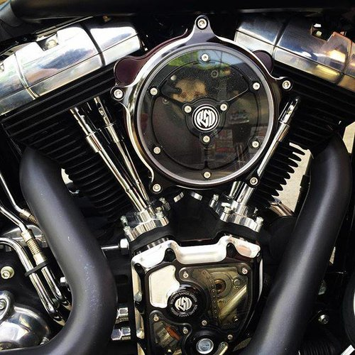 Roland Sands Clarity Air Cleaner Contrast Cut