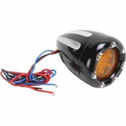 Turn Signals Deep Cut With Fire Ring Black