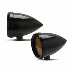 Marker Light Speeding Bullet Black