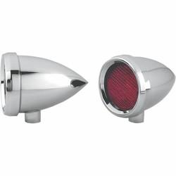 Marker Light Speeding Bullet Chrome Rood