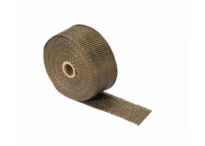 10M Uitlaat Wrap / Exhaust Wrap / Heat Wrap Titanium