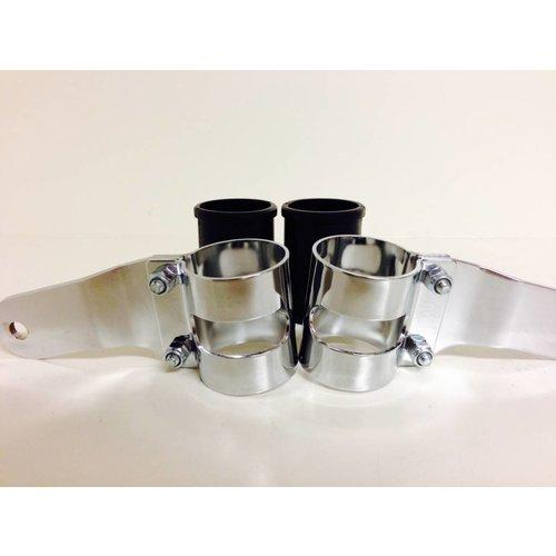 Shin Yo 43 - 47MM Lampenhalter mit Vibrationsgummi Verchromt