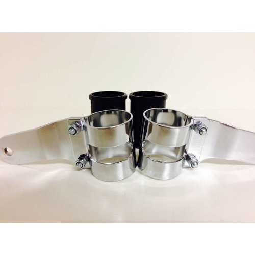 Shin Yo 38 - 42MM Lampenhalter mit Vibrationsgummi Verchromt