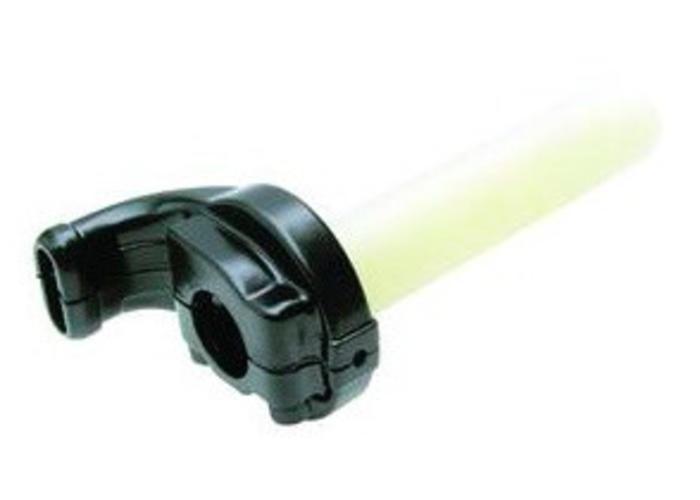 Push/Pull Gashandvat 22MM Zwart (2 kabels) type 2