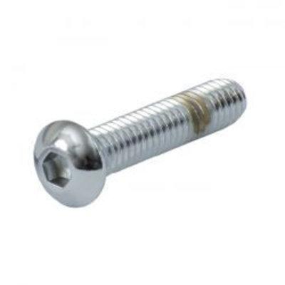 Gardner Westcott 3/8-16 X 1 Inch Buttonhead Bout Chrome