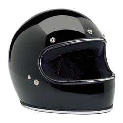 Gringo Helmet Gloss Black ECE 22.05