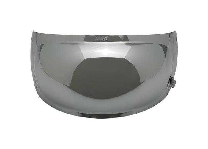 Biltwell Gringo S Bubble Shield Chrome Mirror