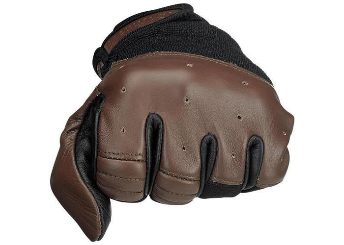 Biltwell Bantam Gloves Chocolat Black