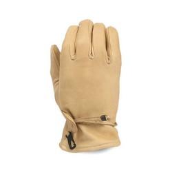 Lederen Oldschool Handschoenen Sand Size:Small