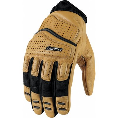 ICON Super Duty 2 Gloves Tan