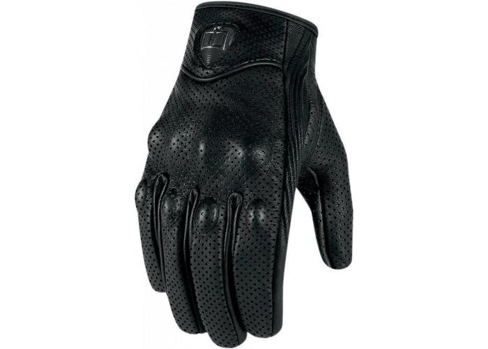 ICON Pursuit Touchscreen Gloves Geperforeerd