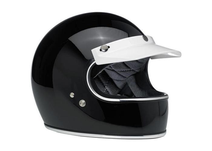 Biltwell Moto Visor White