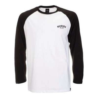 Dickies Baseball-Shirt - Schwarz