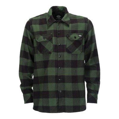 Dickies Sacramento Shirt - Pine GrÌ_n