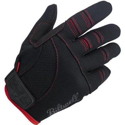 Biltwell Moto Handschuhe - Schwarz / Rot