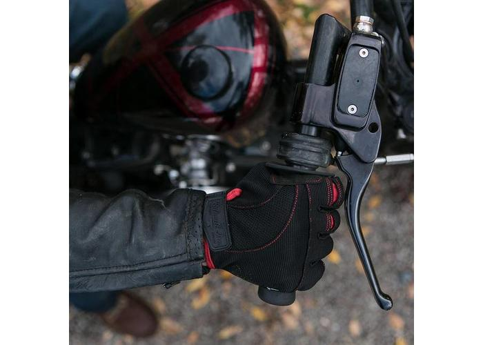 Biltwell Moto Handschoenen - Zwart / Rood