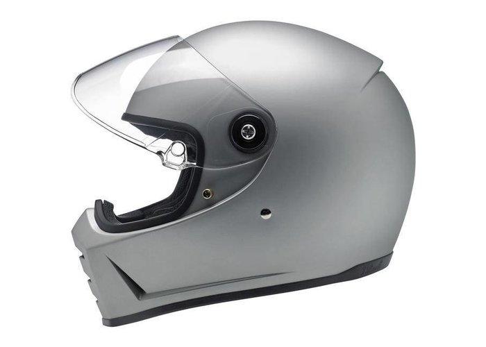 Biltwell Lane Splitter - Flat Silver