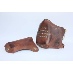 Chopper Mask - Vintage Braun