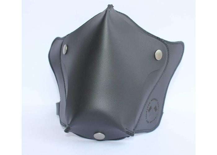 Chopper Masker Leder - Black